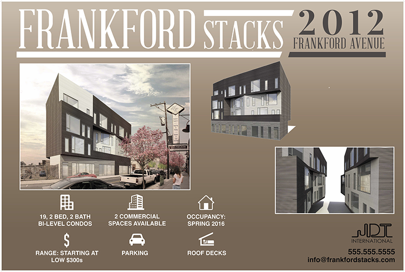 Frankford Stacks Information